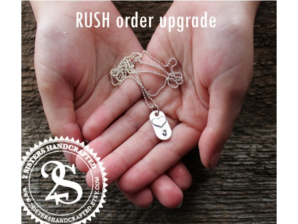 Rush order upgrade to have your piece completed outside of regular studio hours