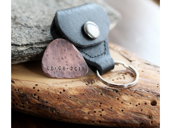 personalized men's keychain