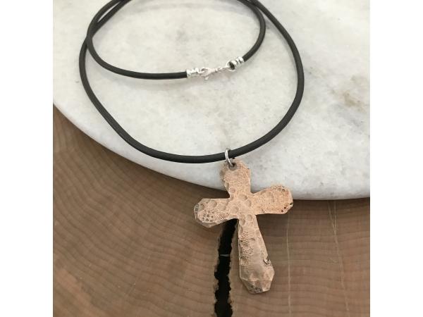 Men's cross necklace