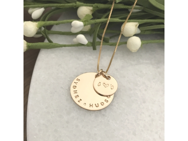 mens personalized gold necklace