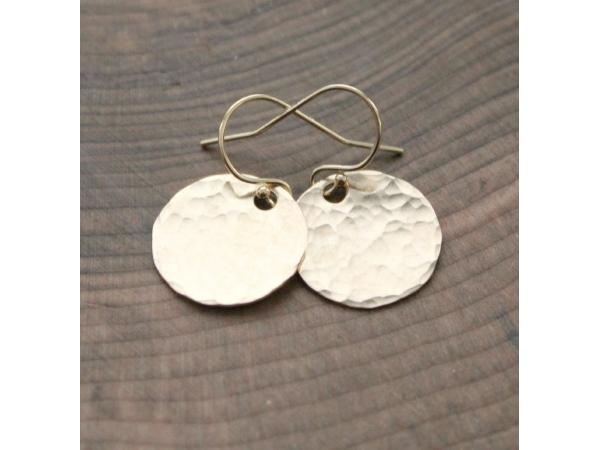 gold fill earrings