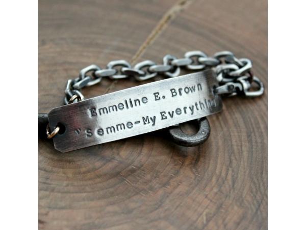 mens custom bracelet