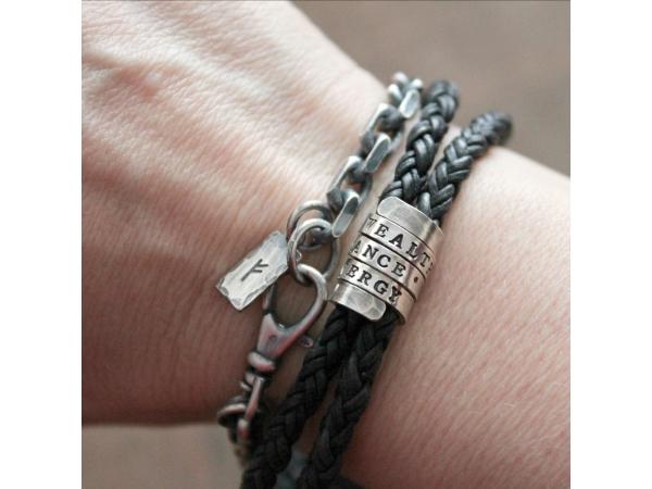 custom mens bracelet