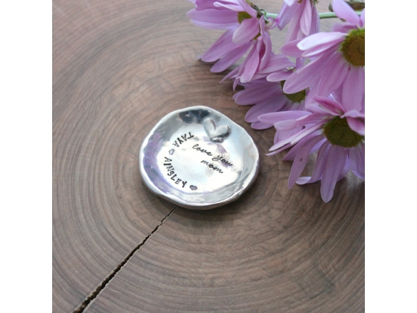 personalized trinket dish