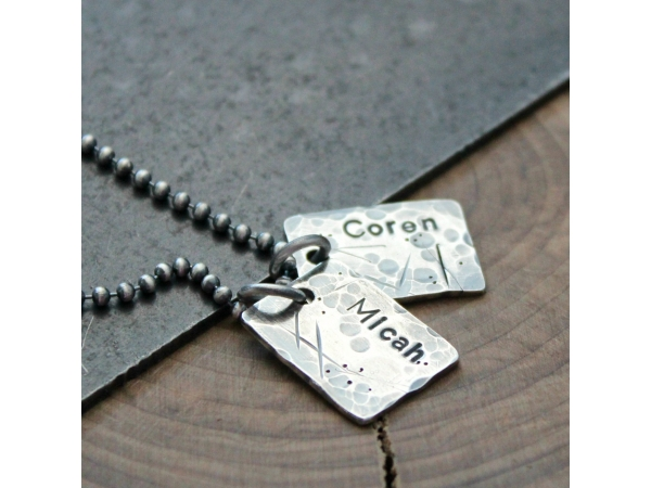 men' personalized necklace