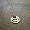 women's personalized layered necklace