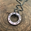 personalized men's necklace