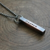 men's personalized necklace