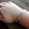 silver custom cuff
