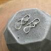 infinity dangle earrings