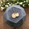 men's gold personalized necklace