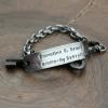 men's personalized bracelet
