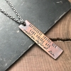 words of strength quote jewelry