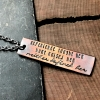 strength quote necklace