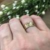 gold fill layering ring
