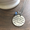 your path is beautiful necklace