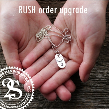Rush Order Upgrade - For 2 Sisters Handcrafted