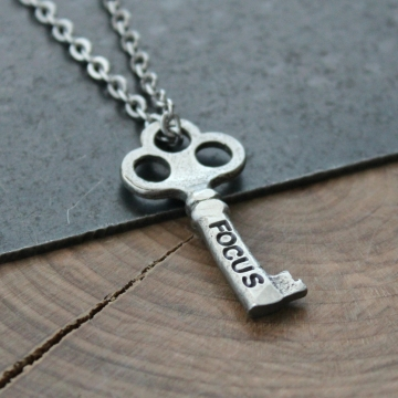 Key Word Inspirational Necklace - Personalized Word Necklace